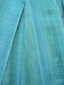 blue_green fabric_plain weave