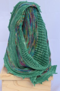 raeleen knitted wrap
